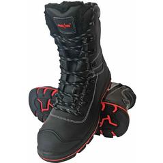 Pánska zateplená bezpečnostná obuv DIABLO, čierne