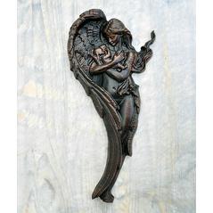 Drevorezba Anjel palisander