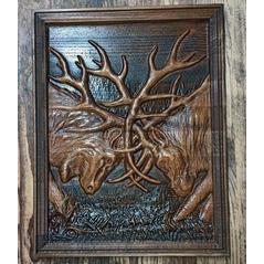 Drevorezba jelene