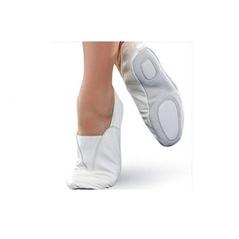Gymnastické cvičky baletky biele