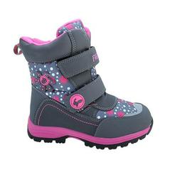 Dievčenské ružové zimušné topánky