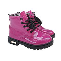 Dievčenské štýlové ružové topánky