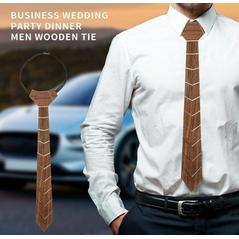 Pánska štýlová drevená kravata