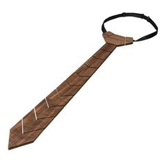 Drevená kravata z orechového dreva