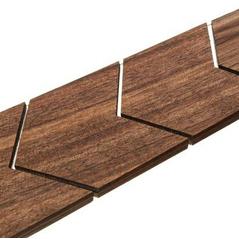 Drevená pánska kravata