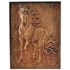 Drevorezba Kôň