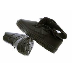 Pánske zateplené topánky čierne
