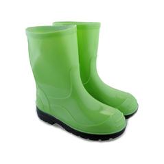 Zelené detské gumáky