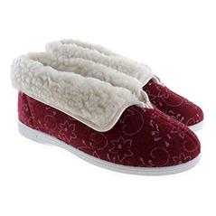Dámske oteplené papuče