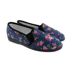 Dámske nízke papuče kvety